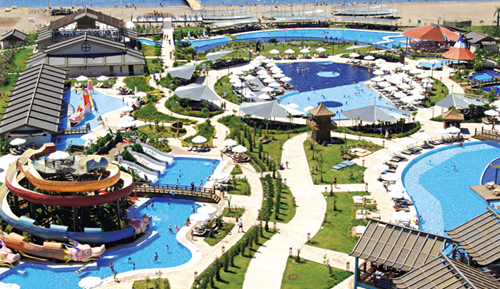 Water attractions in Antalya