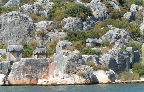 Tour to Demre, Myra, Kekova,Turkey