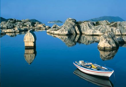 Tour to Kekova, Turkey