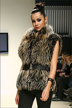 Fur jackets from Turkey