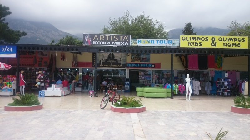 shopping in Beldibi. Shopping in Antalya. Turkey